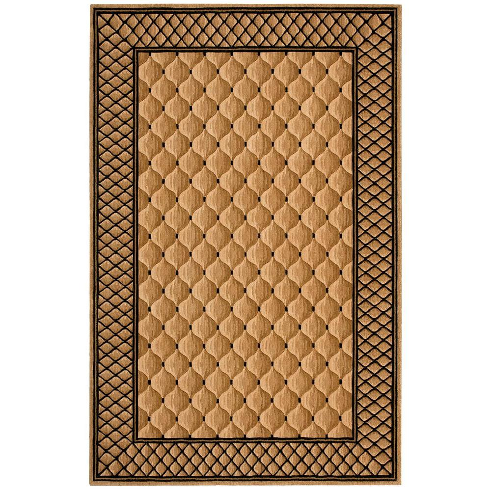 Nourison Vallencierre Beige 9 ft. 9 in. x 13 ft. 9 in. Area Rug