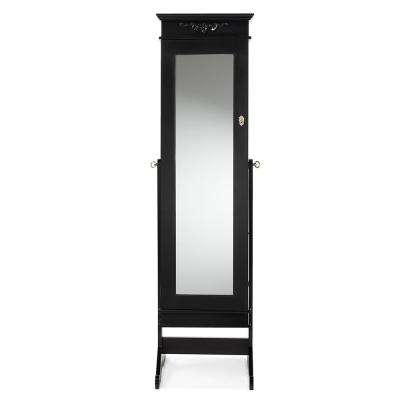 Bimini Black Wood Jewelry Armoire