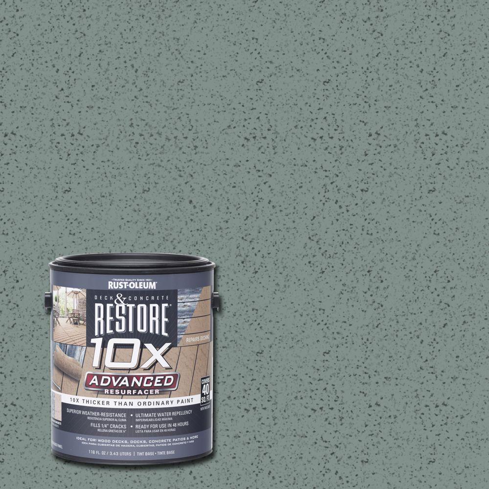 1 gal. 10X Advanced Fern Deck and Concrete Resurfacer