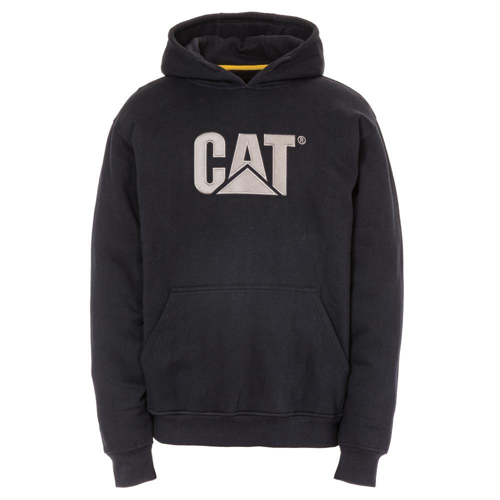 Trademark Men's Size Large Navy Cotton/Polyester Hooded Sweatshirt