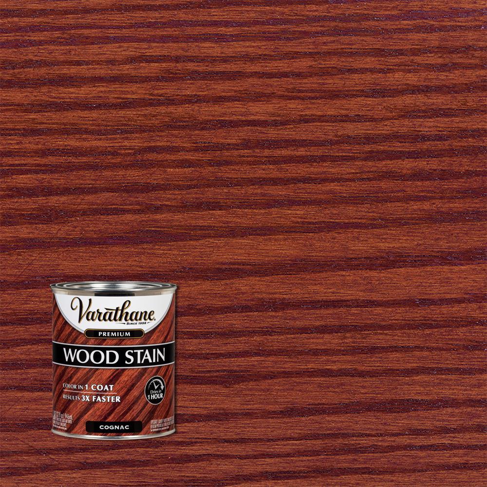 Varathane 1 qt. Cognac Premium Fast Dry Interior Wood Stain