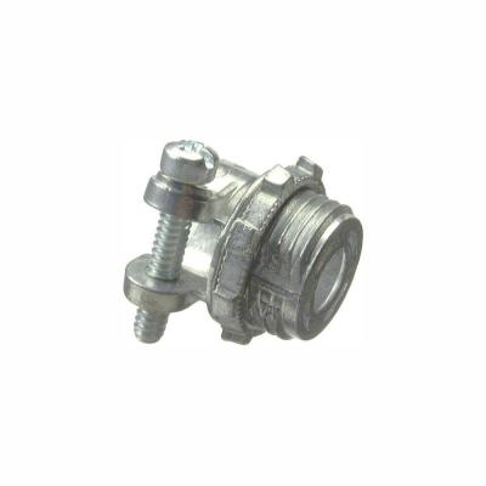 Halex 3/8 in  Flexible Metal Conduit (FMC) Screw-In