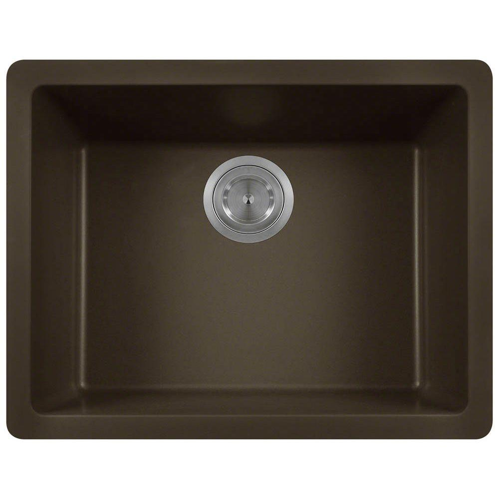 Undermount Kitchen Sinks Mocha Granite