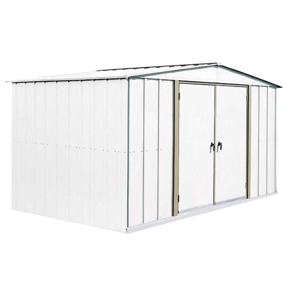 Arrow Homestead 10 ft. x 8 ft. Metal Storage Building