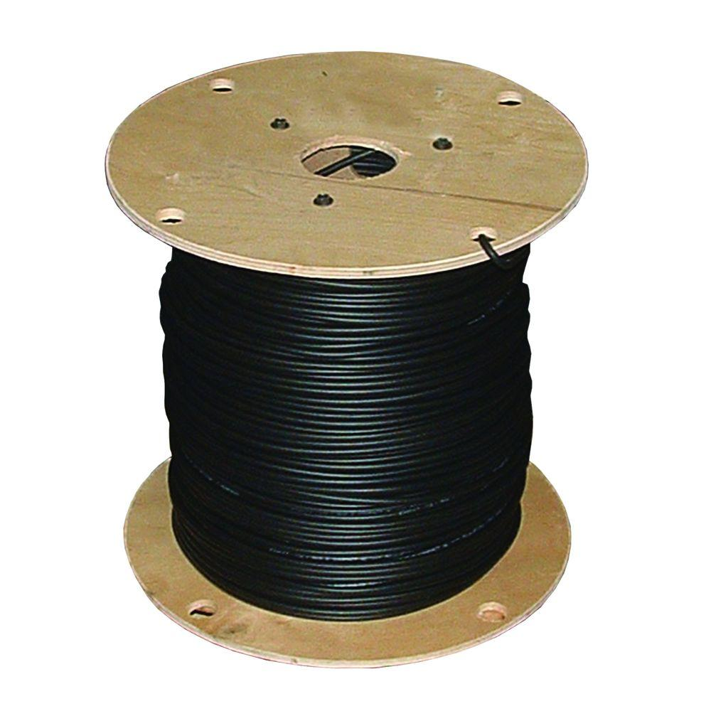 Southwire 500 ft. 6 Black Stranded XHHW Wire-11296107 - The Home Depot