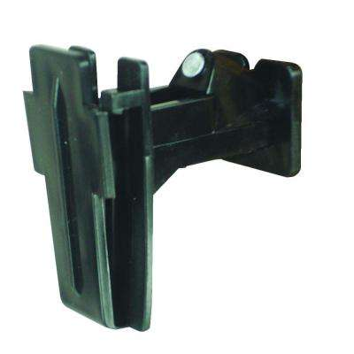 Wood Post - 2 in. Polytape Nail-On Offset Insulator - Black