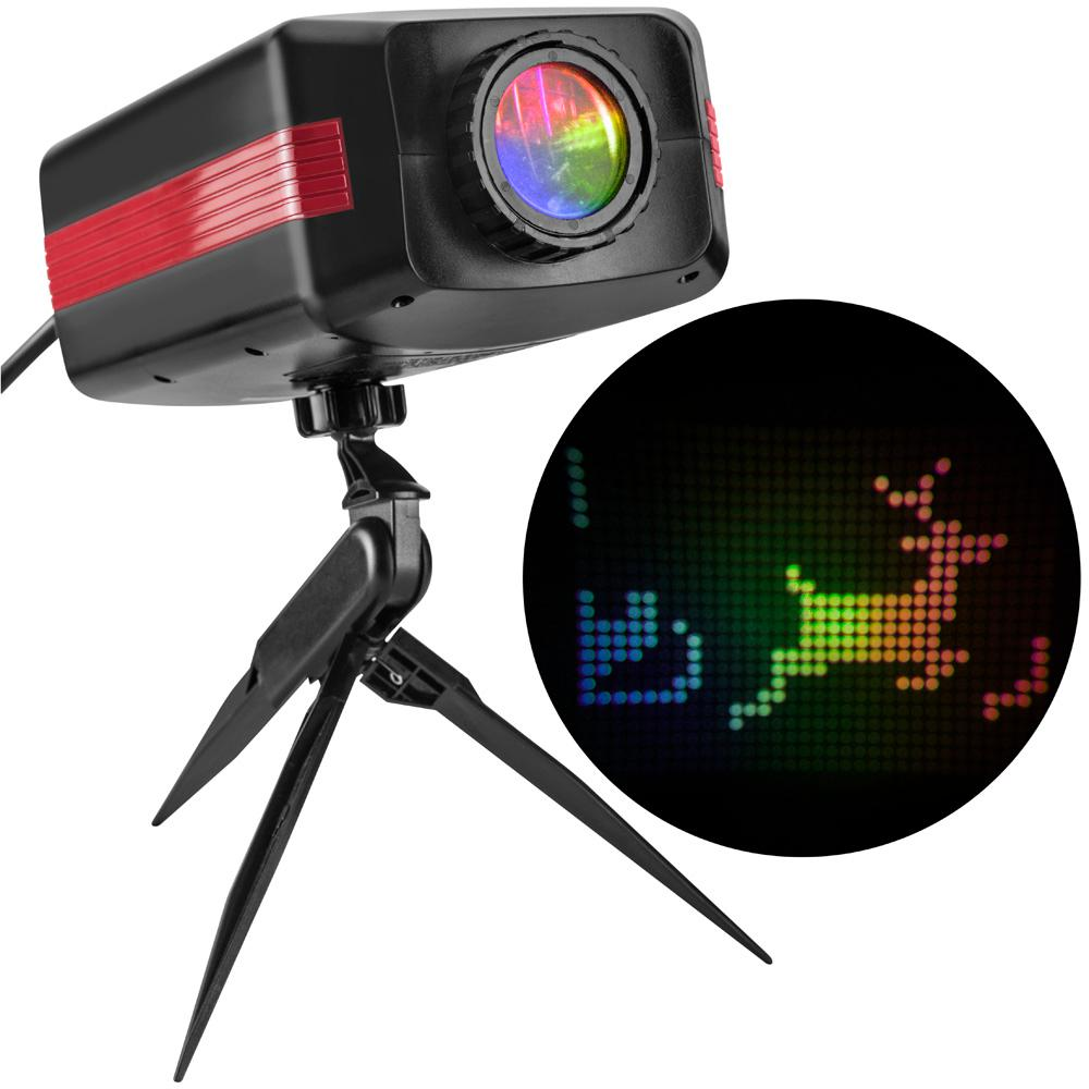 LightShow Multi-Color Personalized Message Projection Stake