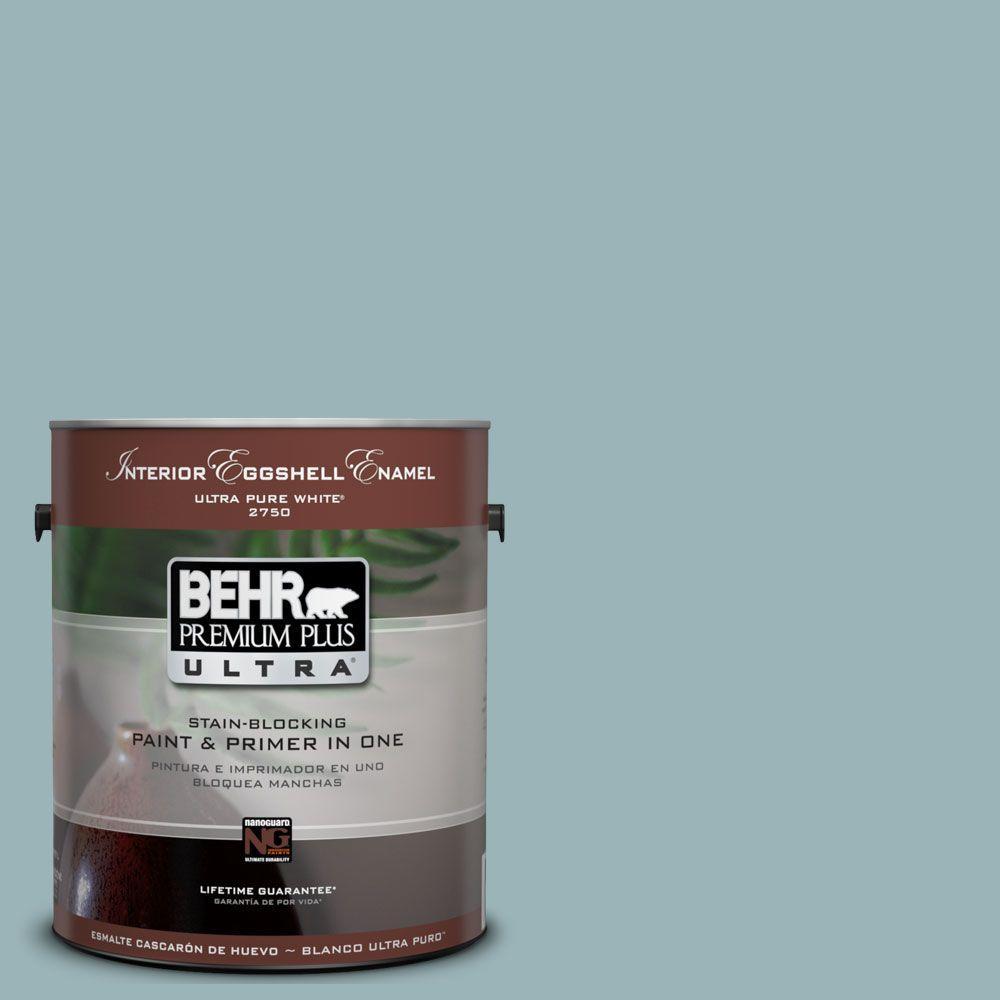 BEHR Premium Plus Ultra 1-Gal. #UL220-6 Harmonious Interior Eggshell Enamel Paint