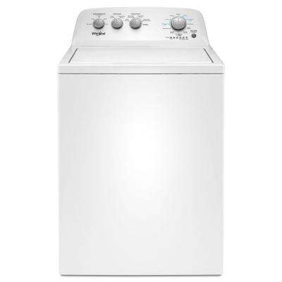 3 9 cu  ft  High-Efficiency White Top Load Washing Machine with Soaking  Cycles