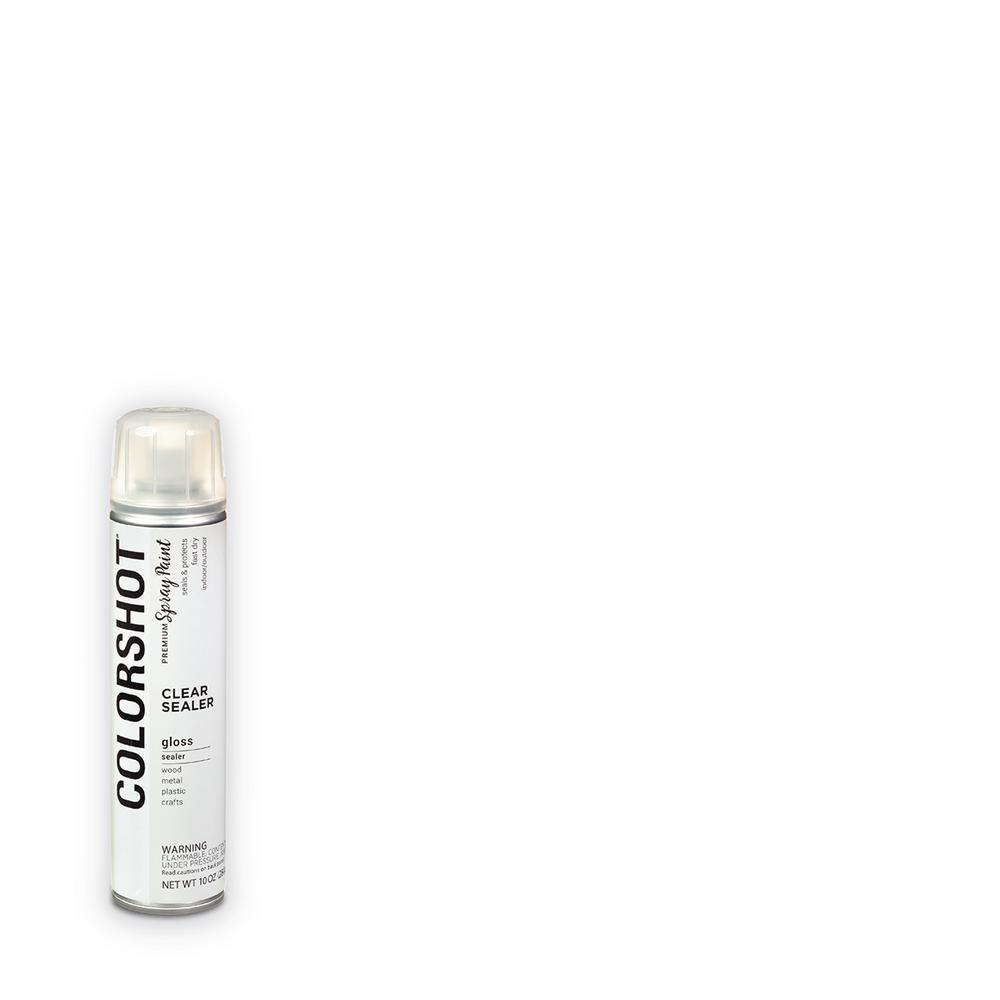 COLORSHOT 10 oz. Gloss Sealer Clear General Purpose Aerosol Spray Paint