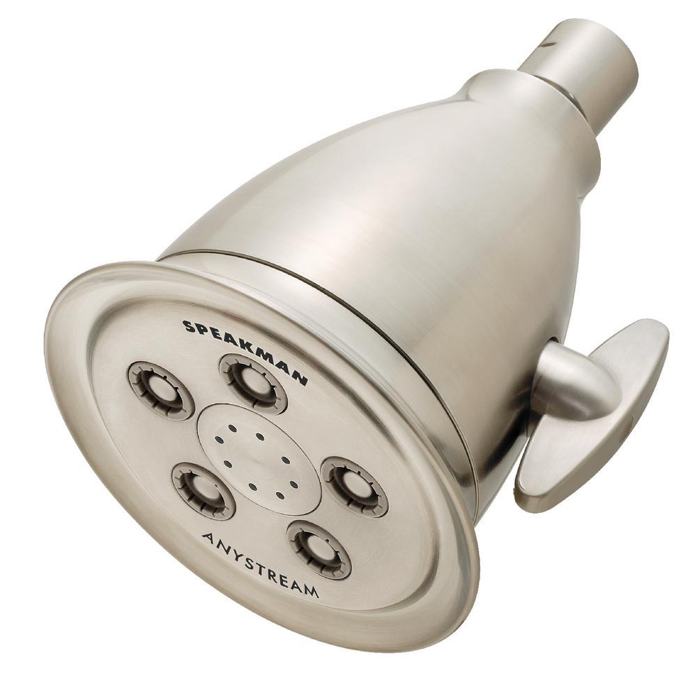 Speakman Hotel Anystream 3-Spray 4.13 in. Fixed Shower Head in ...