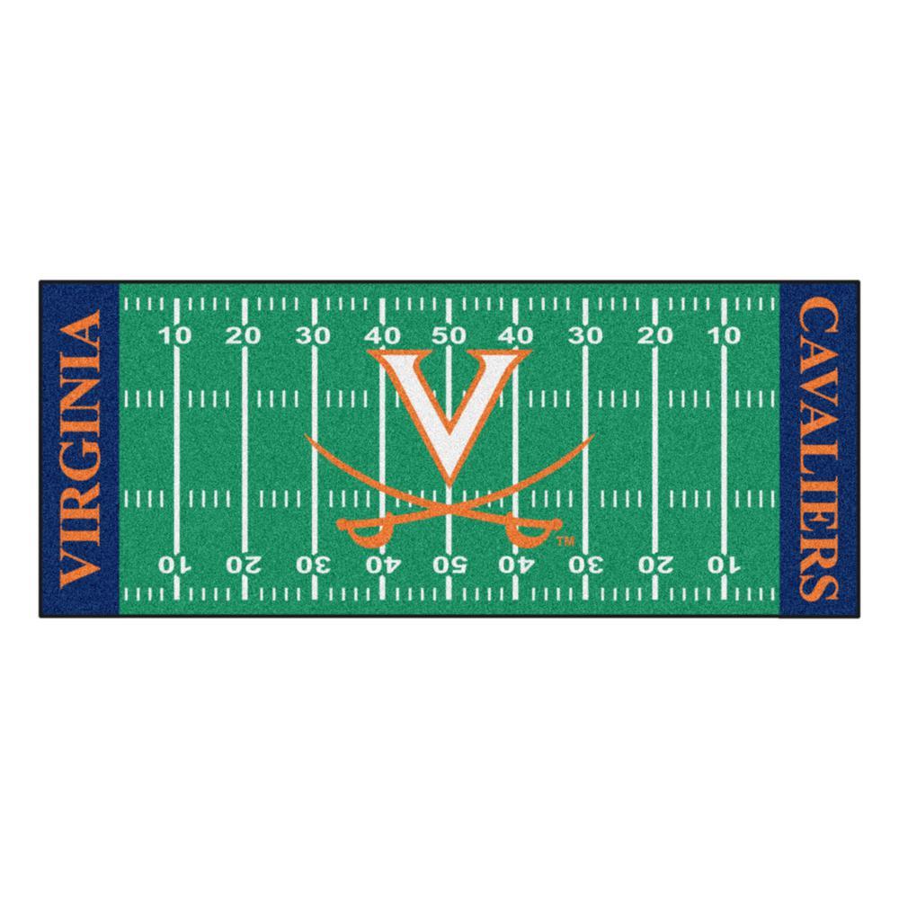 University of Virginia 3 ft. x 6 ft. Football Field Runner Rug