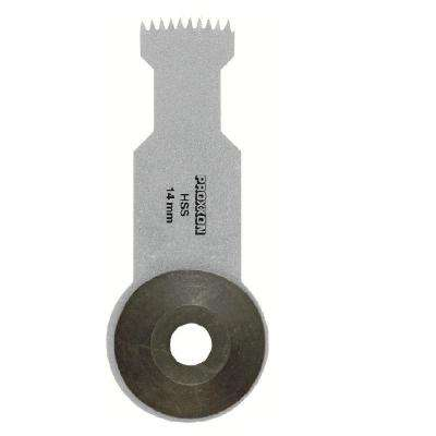 14 mm Width High Speed Steel Plunge-Cut Saw Blade for OZI