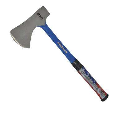32 oz. Solid Steel Camping Axe with 18 in. Handle