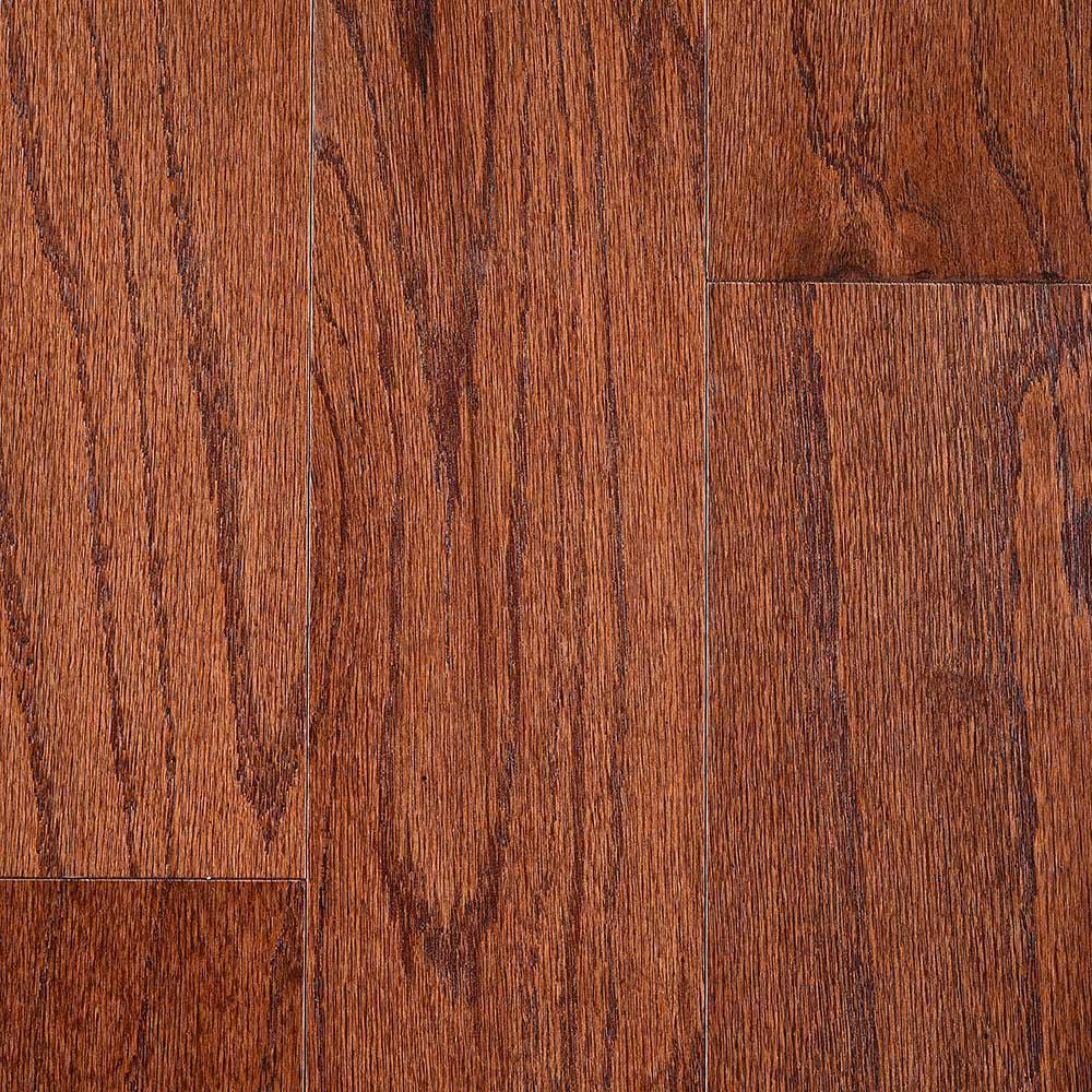 Devonshire Oak Saddle 3/8 in. T x 5 in. W x Random Lengths Engineered Hardwood Flooring (24.5 sq. ft. / case)