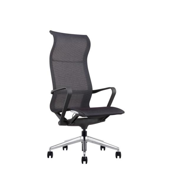 CozyBlock Hilo Series Ergonomic High Back Mesh Office Chair – Adjustable Height and Seat, Tilt Lock, Extensive Lumbar Support