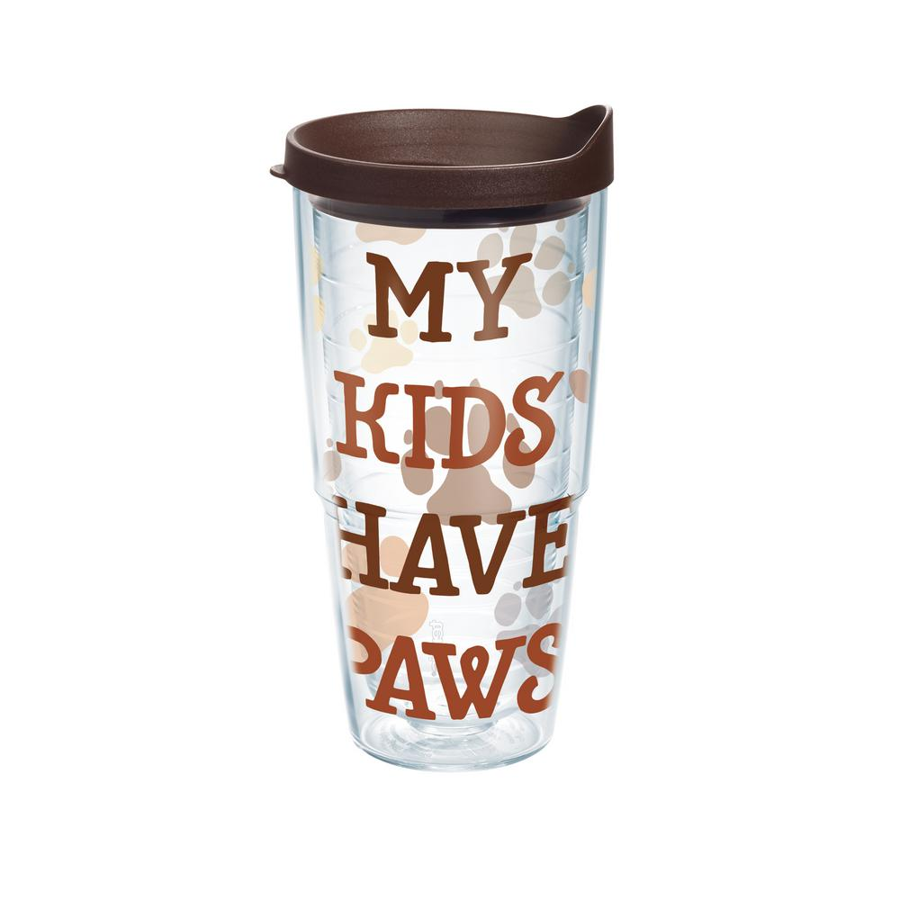 Tervis My Kids Have Paws 24 Oz Tumbler With Lid
