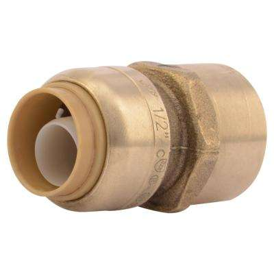 1/2 in. Brass Push-to-Connect x Female Pipe Thread Adapter (4-Pack)