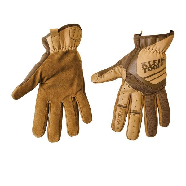 Journeyman Medium Brown Leather Utility Gloves
