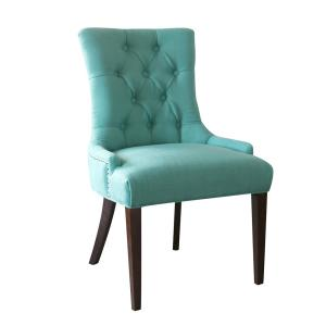 Surprising Quality Components Plus Madelyn Ocean Tufted Chair 200 03 Machost Co Dining Chair Design Ideas Machostcouk