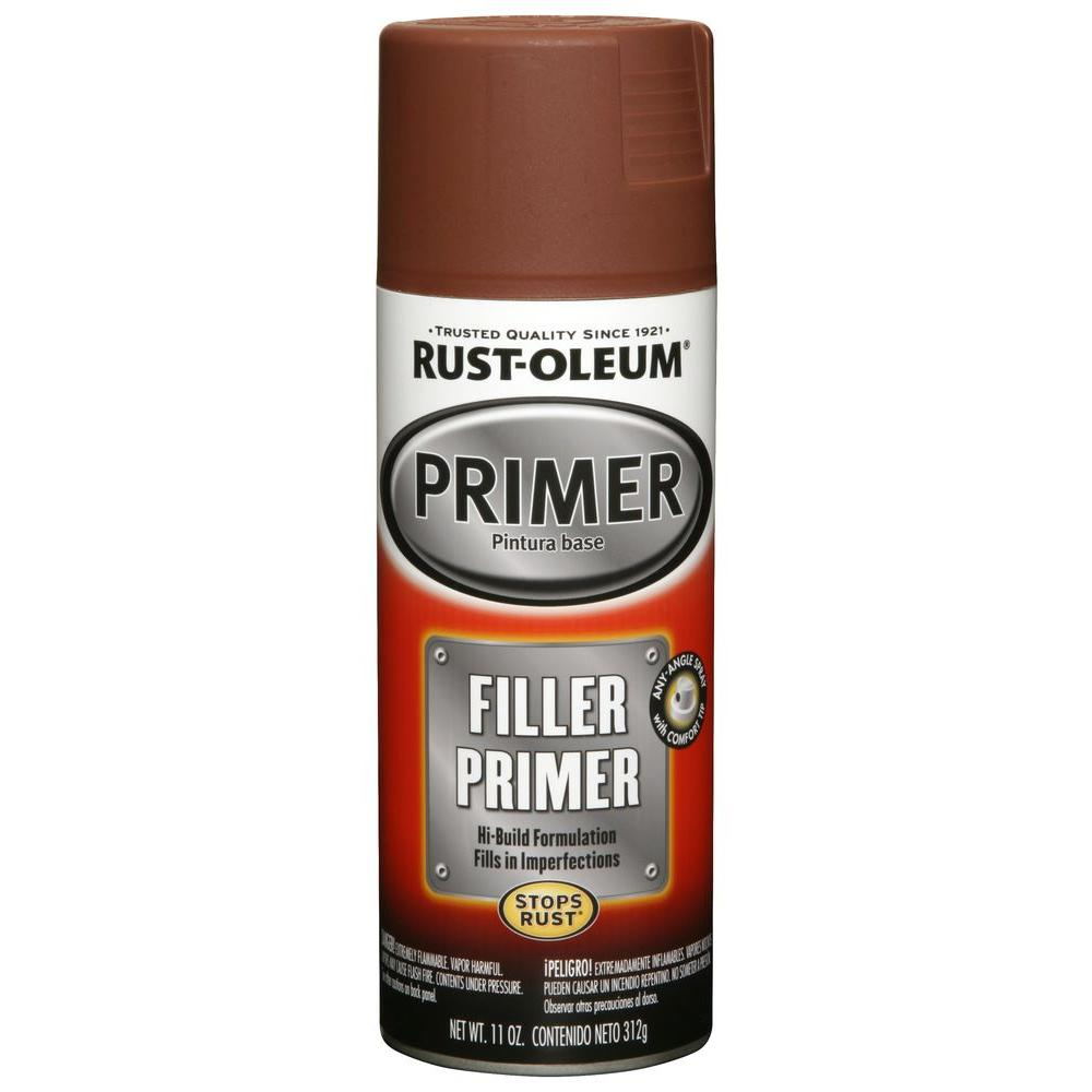 Red Filler Primer Spray 6 Pack