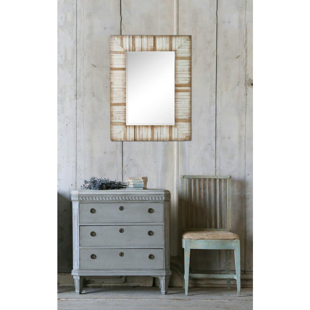 40 in. x 30 in. Vaneela Framed Wall Mirror