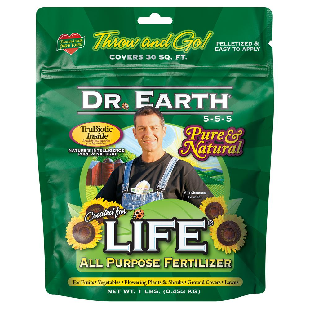 1 lb. 30 sq. ft. Life All Purpose Dry Fertilizer
