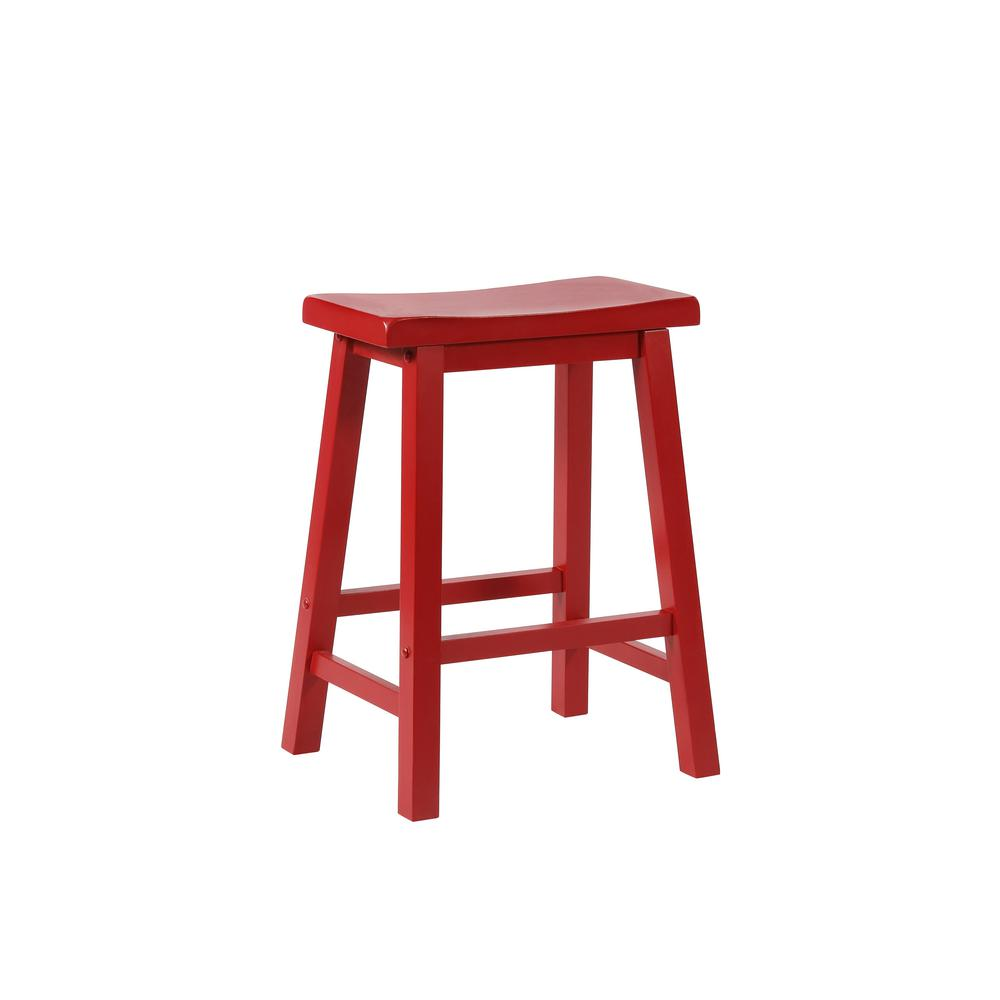 Reviews For Powell Company 24 In Crimson Bar Stool 286 430 The Home Depot