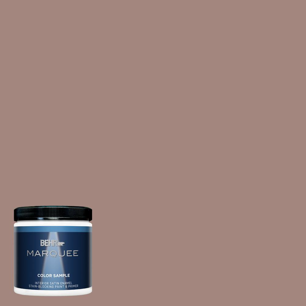 Behr marquee 8 oz bnc 11 pink granite satin enamel - Exterior paint and primer in one reviews ...