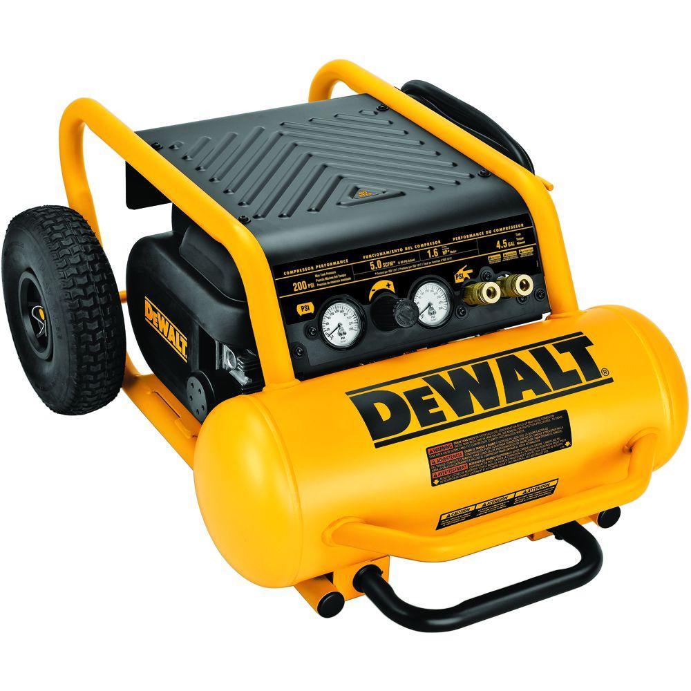 DEWALT 4.5 Gal. Portable Electric Air Compressor