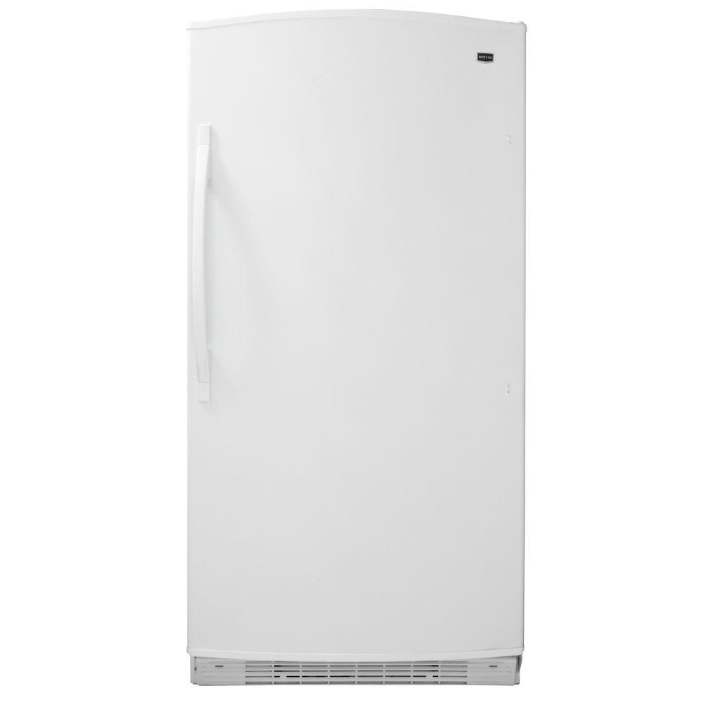 Maytag 20.1 cu. ft. Frost Free Upright Freezer in White