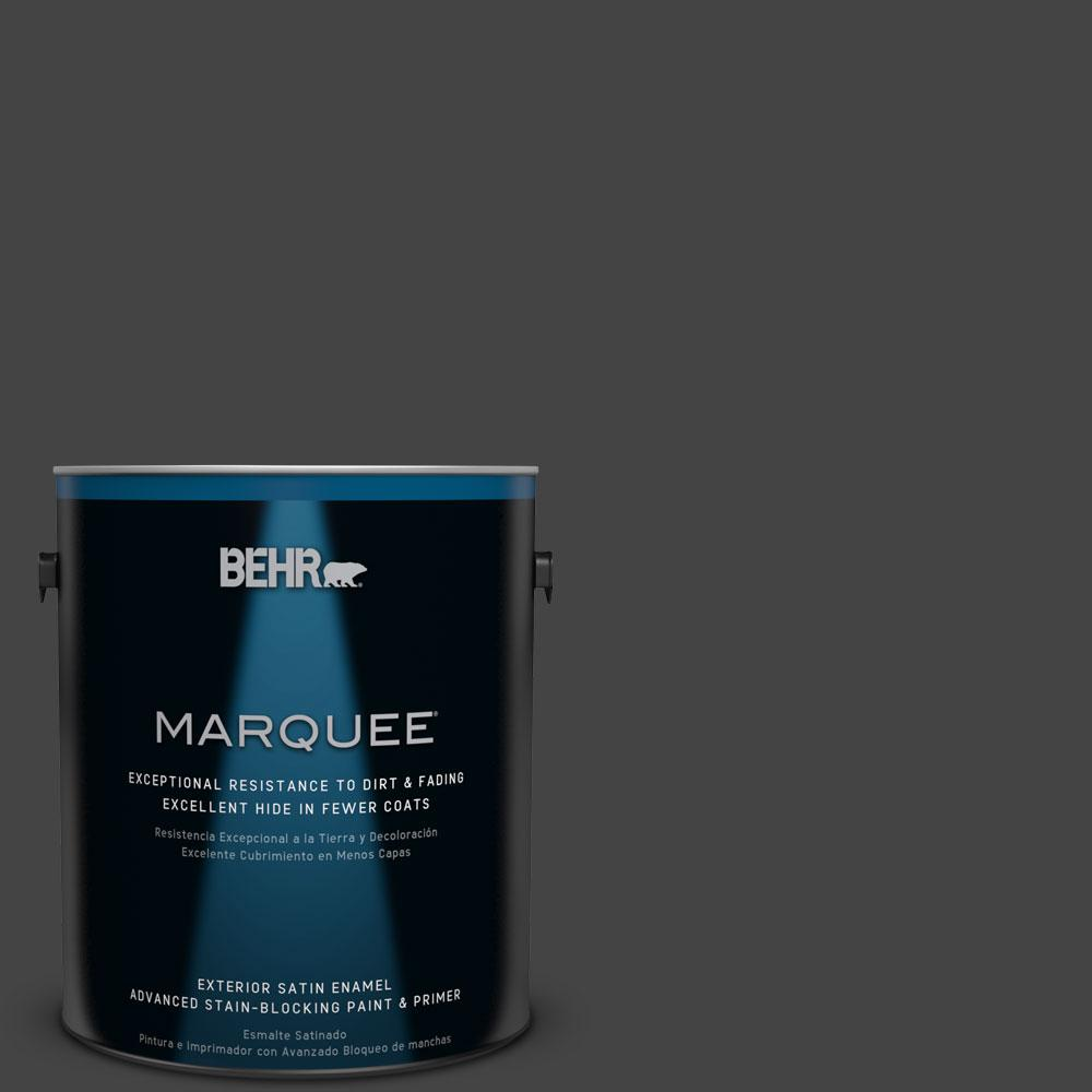 BEHR MARQUEE 1-gal. #PPU18-20 Broadway Satin Enamel Exterior Paint
