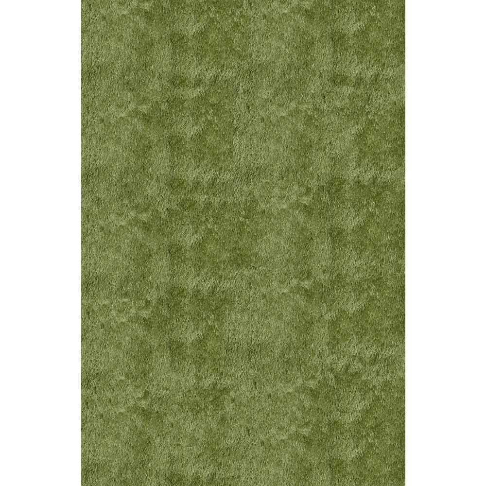 Momeni Luster Shag Apple Green 3 ft. x 5 ft. Indoor Area Rug