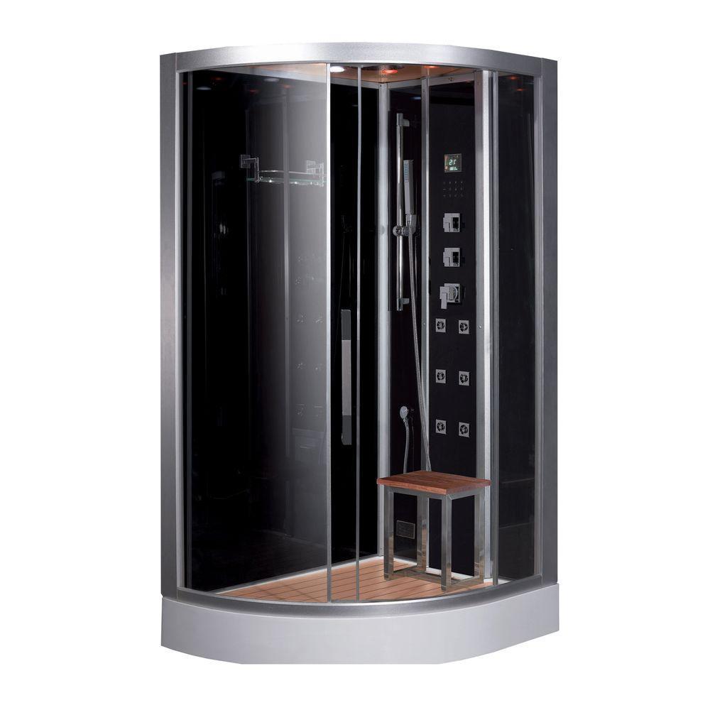 Ariel 477 In X 354 89 Steam Shower Enclosure Kit