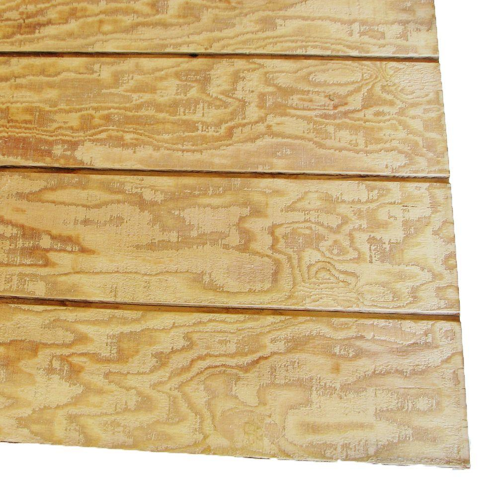 5 8 In X 4 Ft X 10 Ft T1 11 8 In On Center Hi Bor Pressure Treated Plywood 95364 The Home Depot