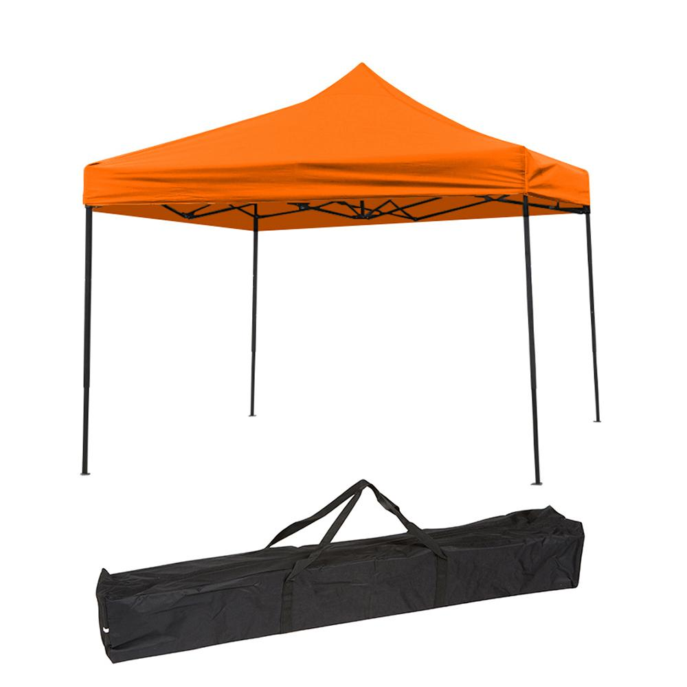 Trademark Innovations 10 Ft X 10 Ft Orange Lightweight