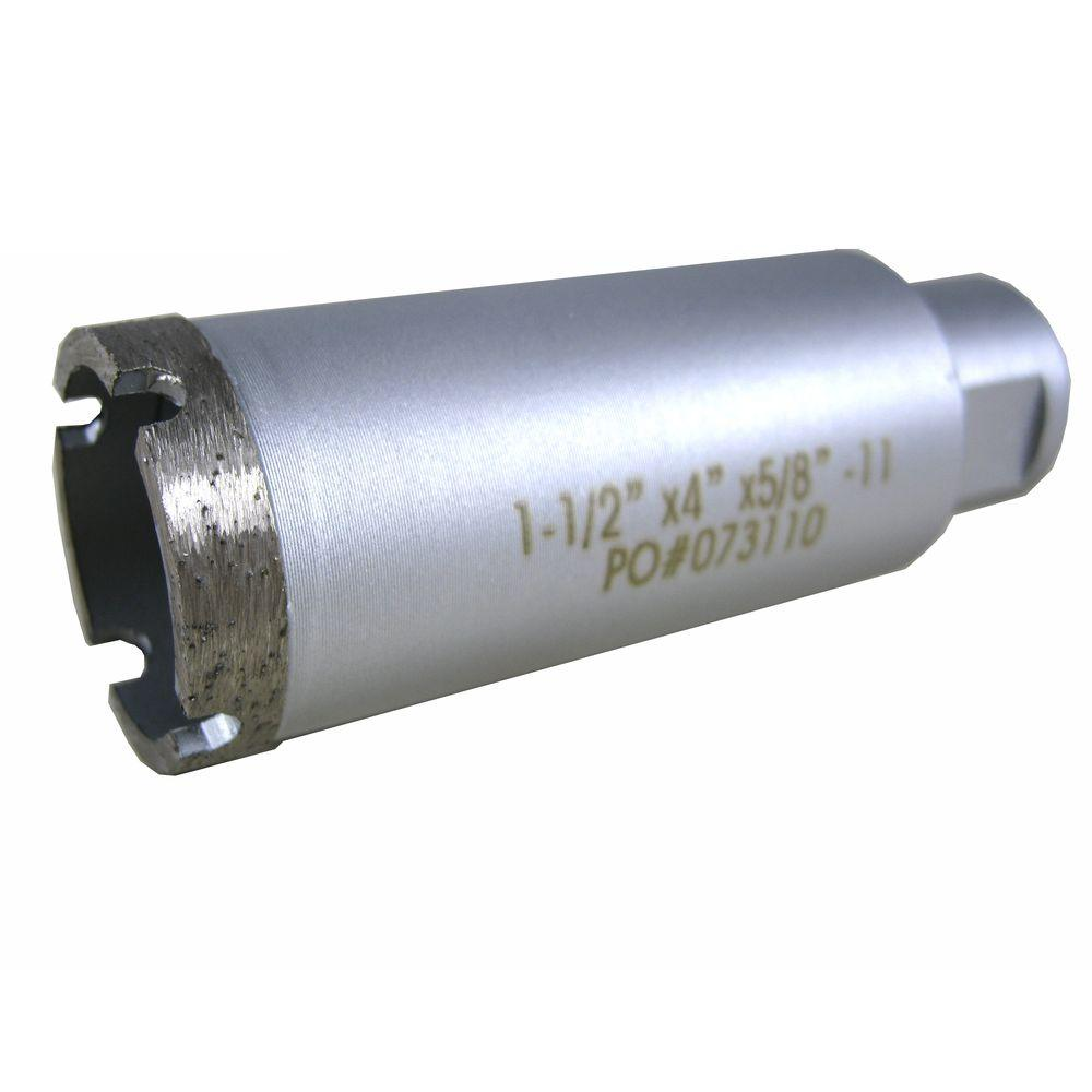 1-1/2 in. Wet Diamond Core Bit for Stone Drilling