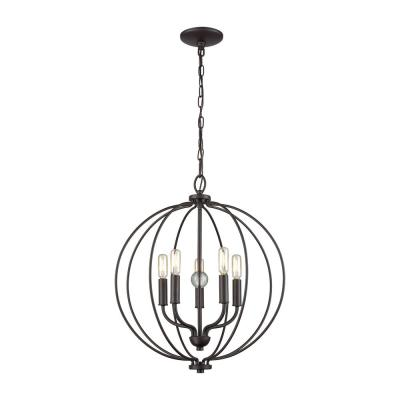 Williamsport 5-Light Oil Rubbed Bronze Chandelier