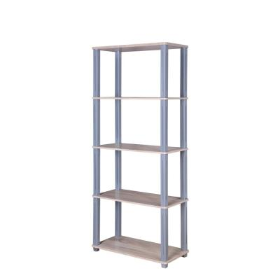 College Collection Natural and Gray Bookcase