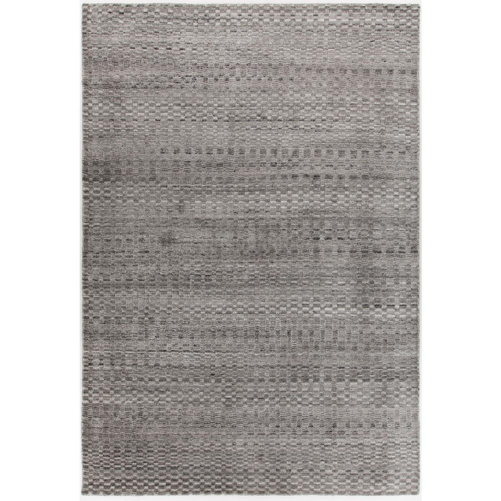 Melina Grey/Silver 5 ft. x 8 ft. Hand Woven Area Rug