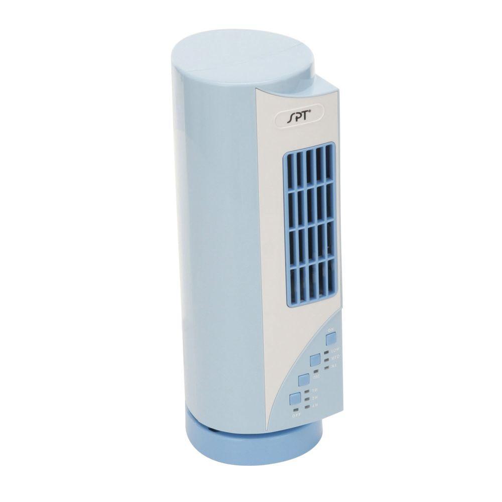 SPT 15-3/4 in. Oscillating Mini Tower Fan