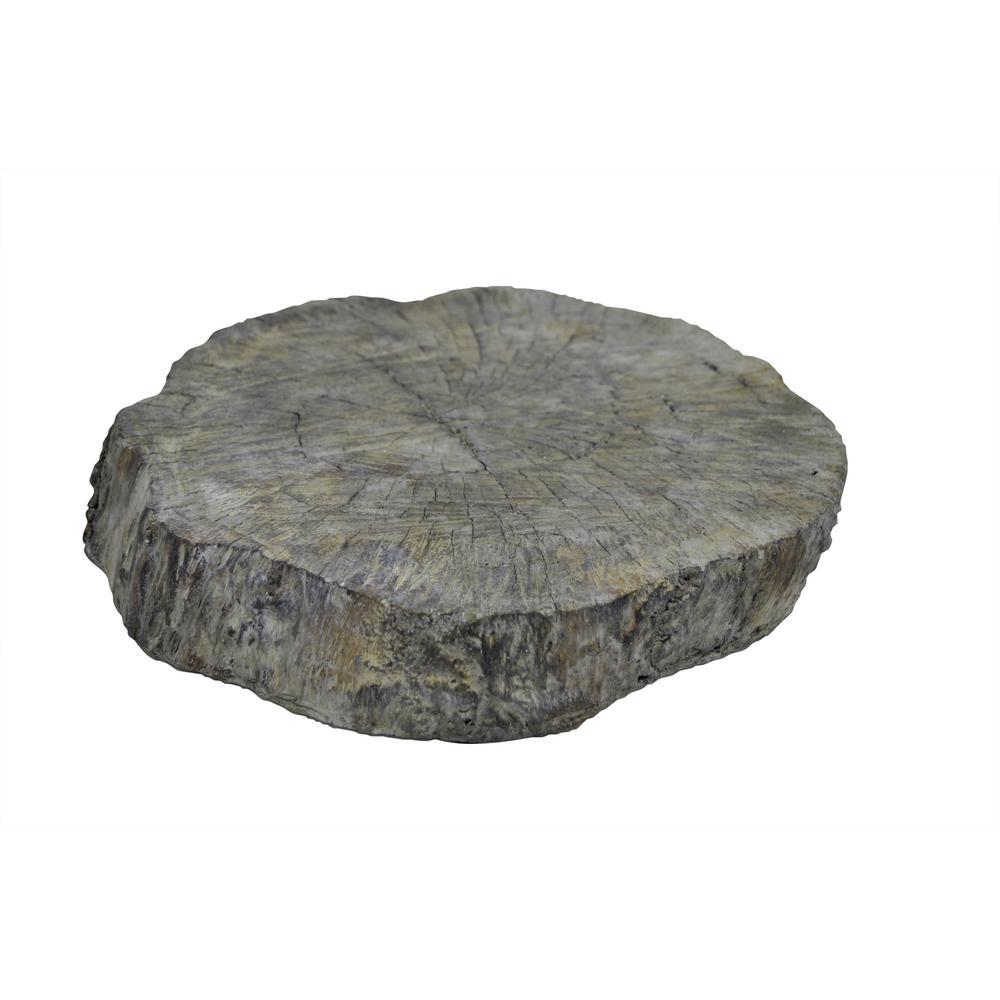 Gray Pedestal Tray