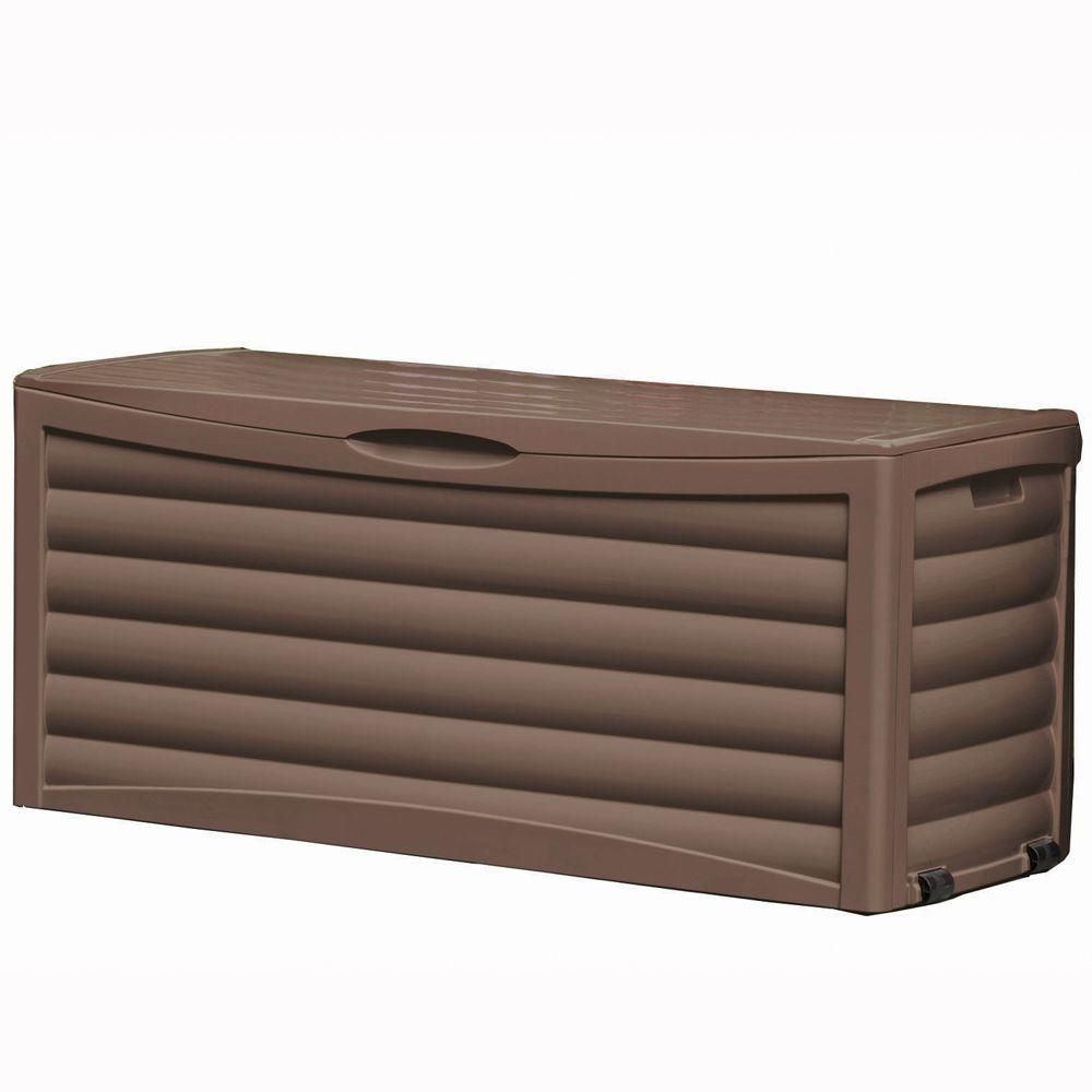 Suncast 1 ft. 9 in. x 4 ft. 8.5 in. x 2 ft. Large Deck Box-DISCONTINUED