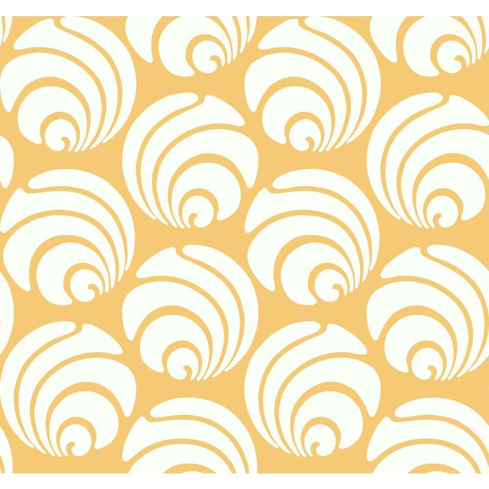 Large Swirl Geo Wallpaper