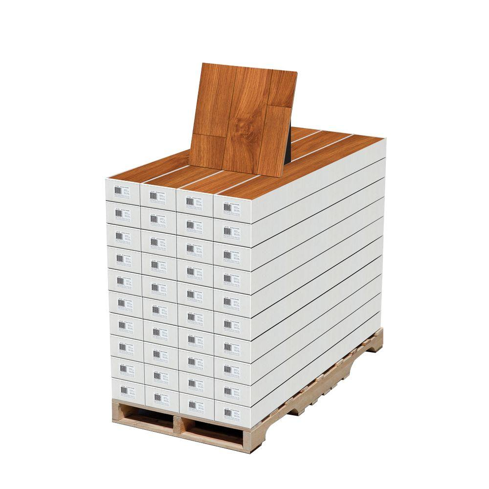 High Gloss Alexander Oak 8 mm Thick x 5 in. Wide