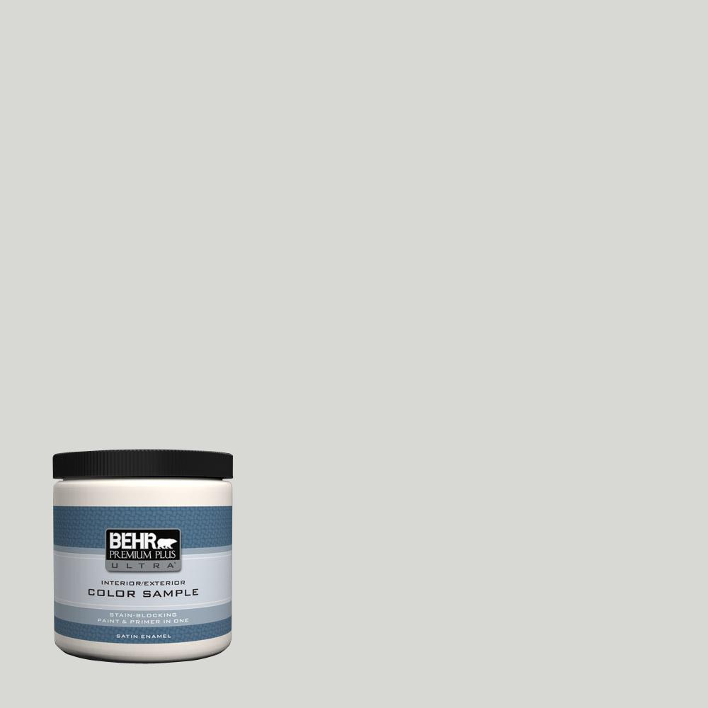Behr Premium Plus Ultra 8 Oz T17 01 Close Knit Satin Enamel Interior Exterior Paint Sample