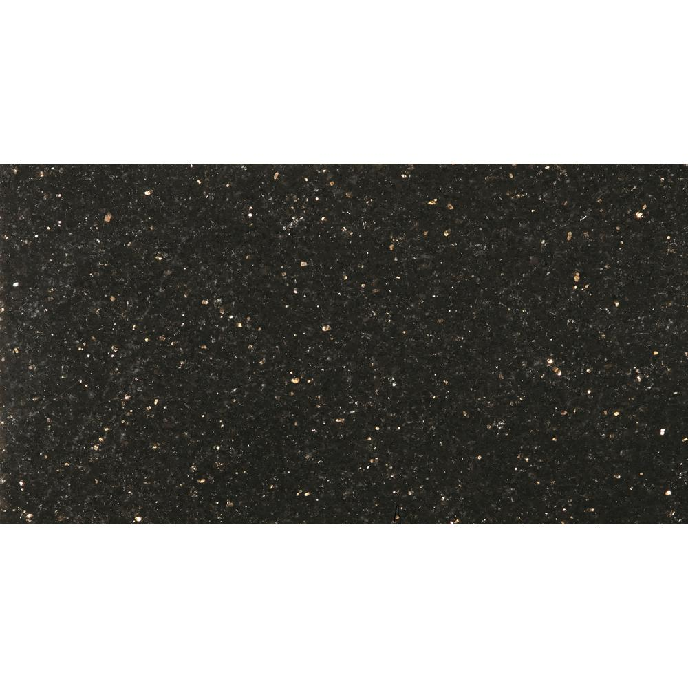 Emser Granite Galaxy Black Polished 1201 In X 2402 In Granite