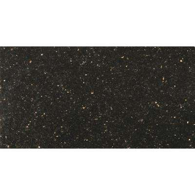 Granite Galaxy Black Polished 12 01 In X 24 02 Floor And Wall Tile