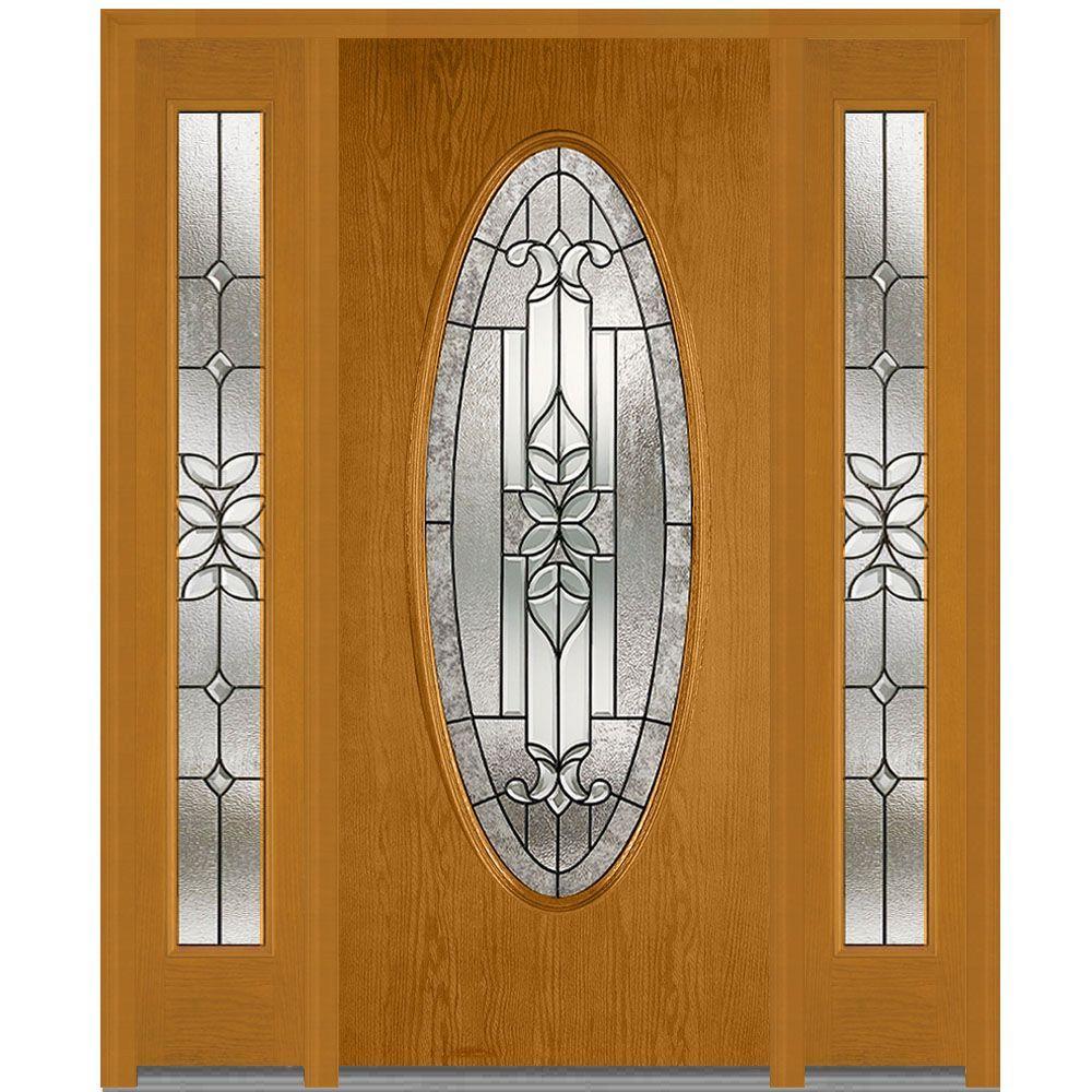 Decorative Front Doors With Glass : Mmi door in cadence decorative glass