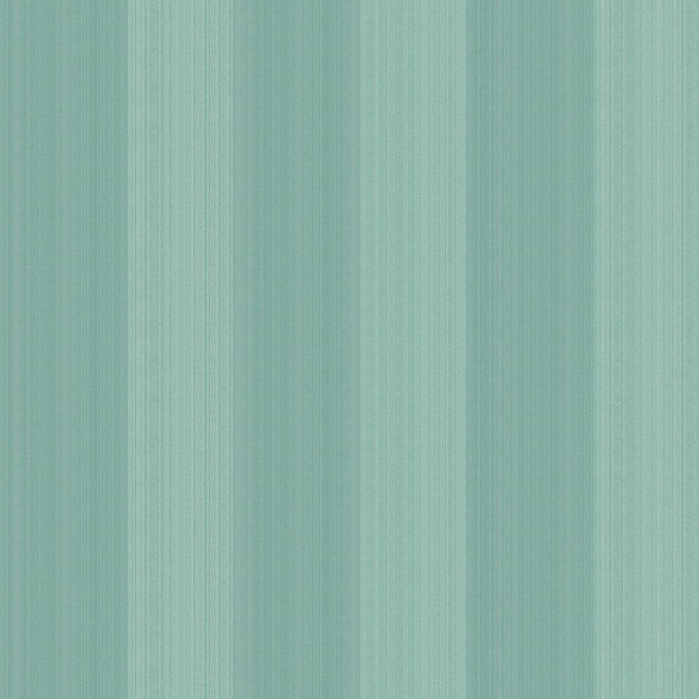 The Wallpaper Company 56 sq. ft. Green Stria Stripe Wallpaper